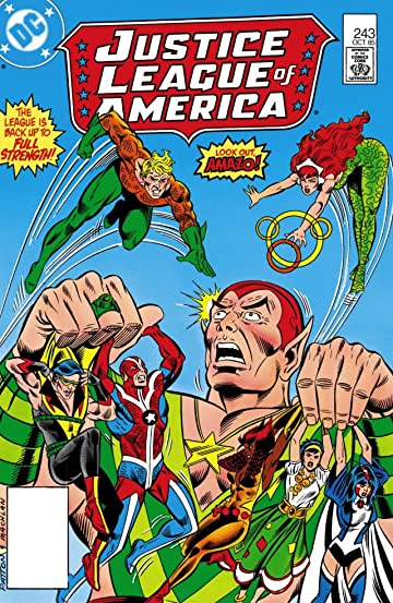 Justice League of America (1960-1987) #243