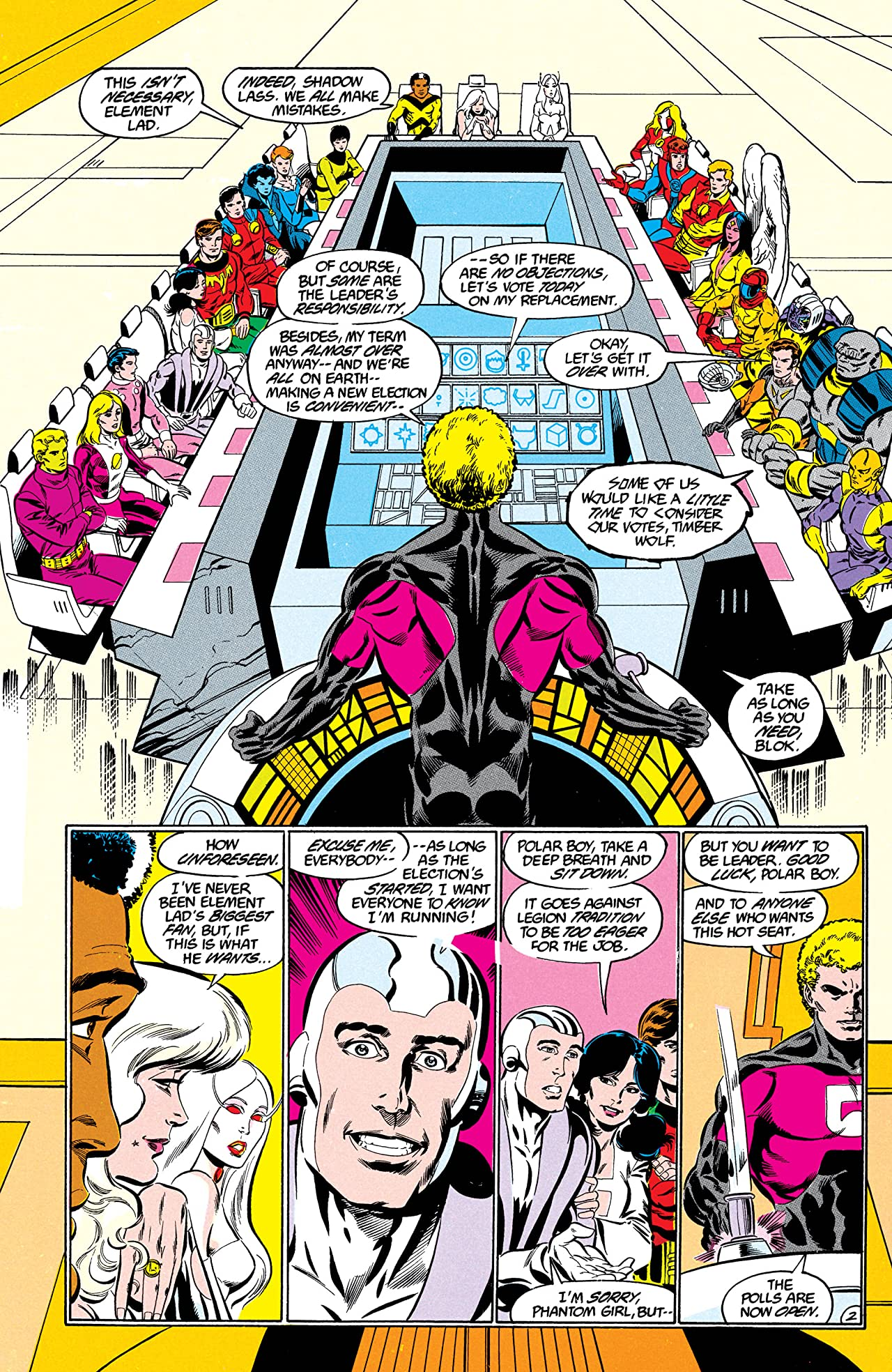 Legion of Super-Heroes (1984-1989) #36