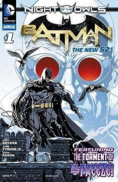 Batman (2011-2016): Annual #1
