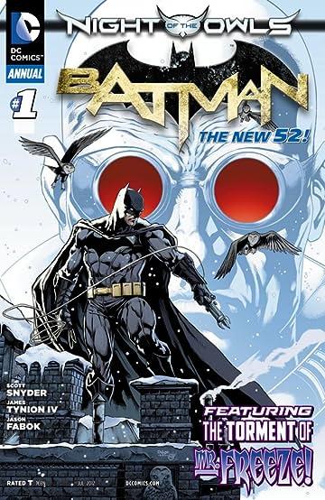 Batman (2011-) #1: Annual