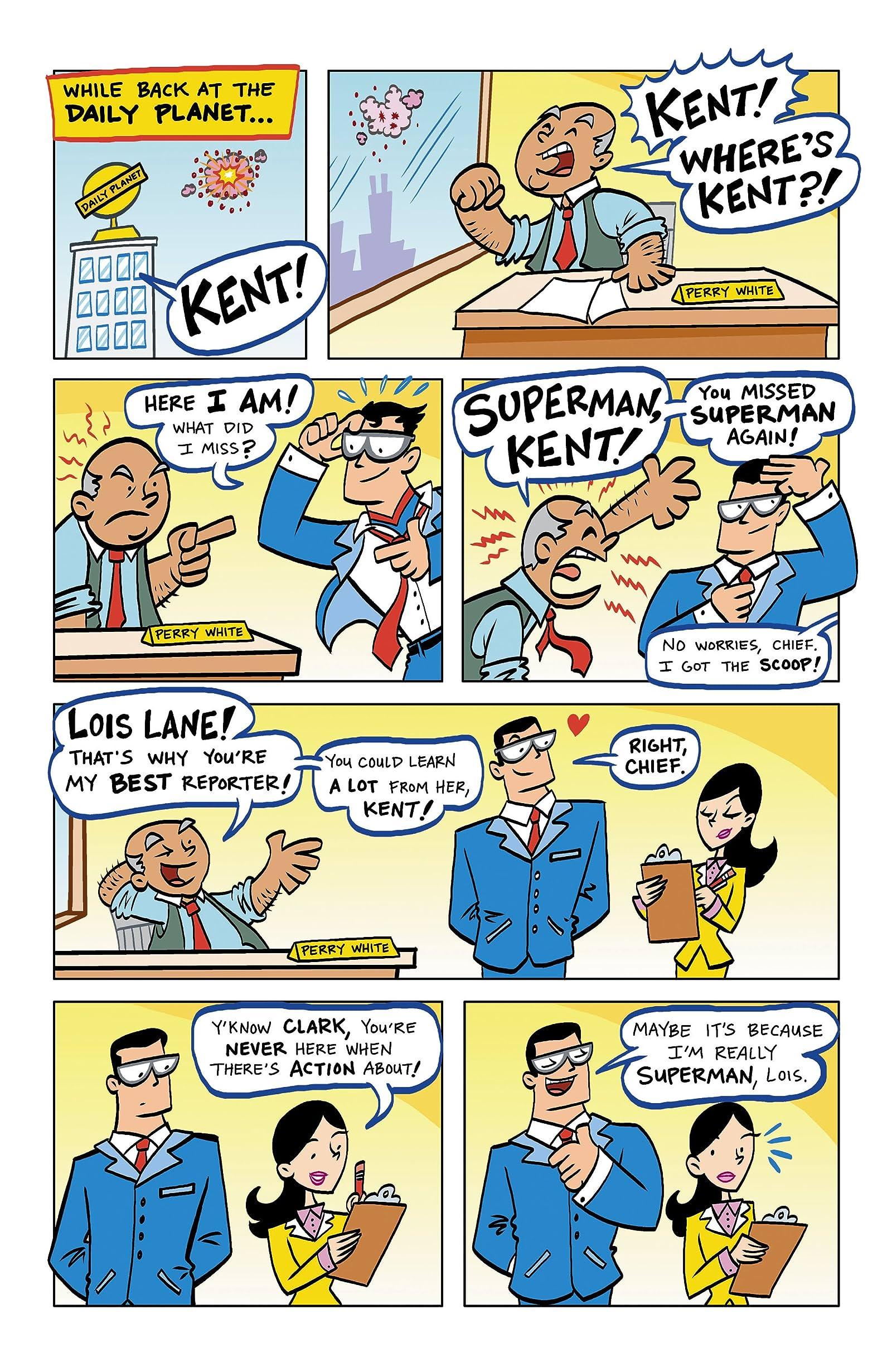 Superman Family Adventures 1 Eu Comics By Comixology
