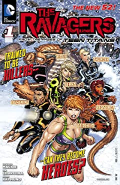 The Ravagers (2012-2013) #1