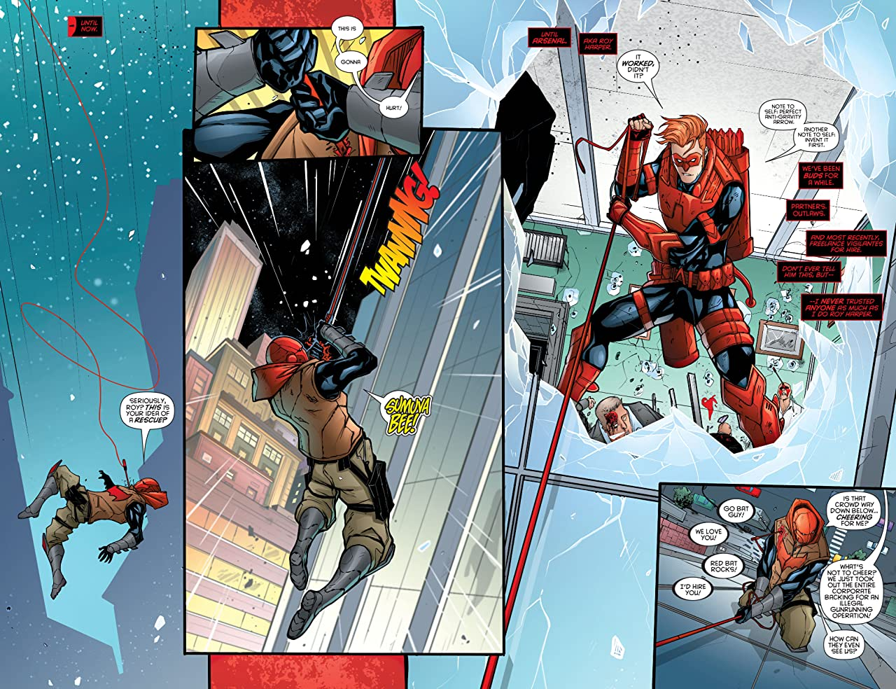Red Hood/Arsenal (2015-2016) #3