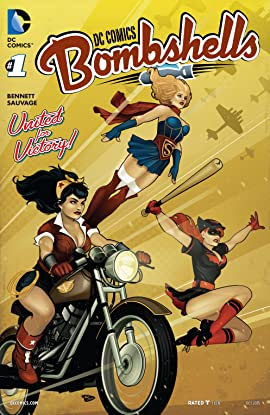 DC Comics: Bombshells (2015-2017) #1: Print Version