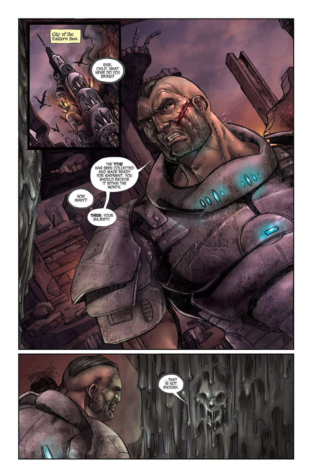 Last Reign: Kings of War #2 (of 5)