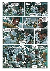 Luchadores five Vol. 3: Les Créatures du lac de cuir noir