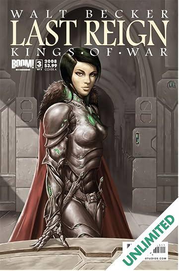 Last Reign: Kings of War #3 (of 5)