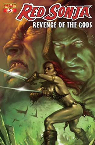 Red Sonja: Revenge of the Gods #3 (of 5)