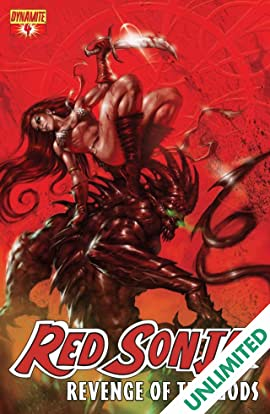 Red Sonja: Revenge of the Gods #4 (of 5)