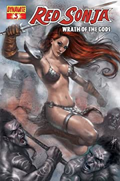 Red Sonja: Wrath of the Gods #3 (of 5)