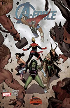 A-Force (2015) No.3