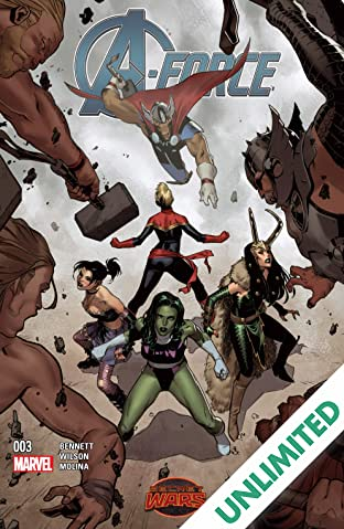 A-Force (2015) #3