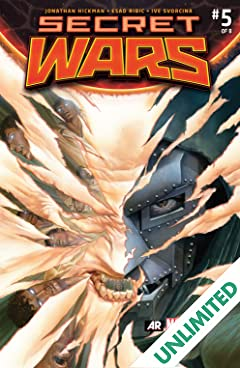Secret Wars (2015-2016) #5 (of 9)