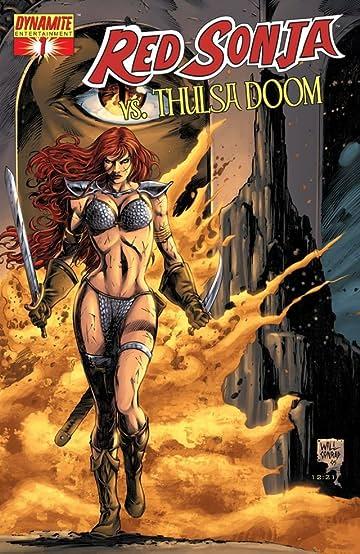 Red Sonja Vs. Thulsa Doom #1