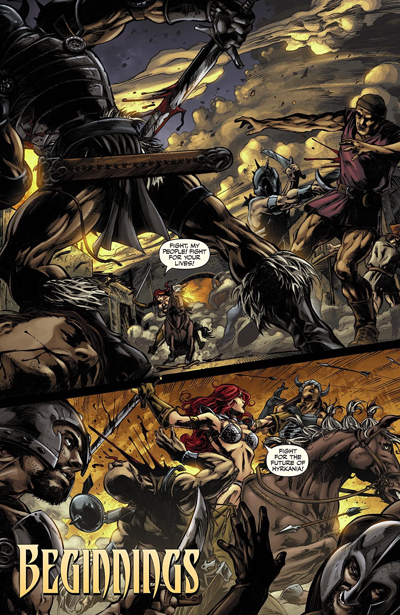 Red Sonja Vs. Thulsa Doom #1 (of 4)