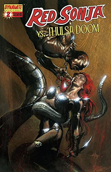 Red Sonja Vs. Thulsa Doom #2 (of 4)