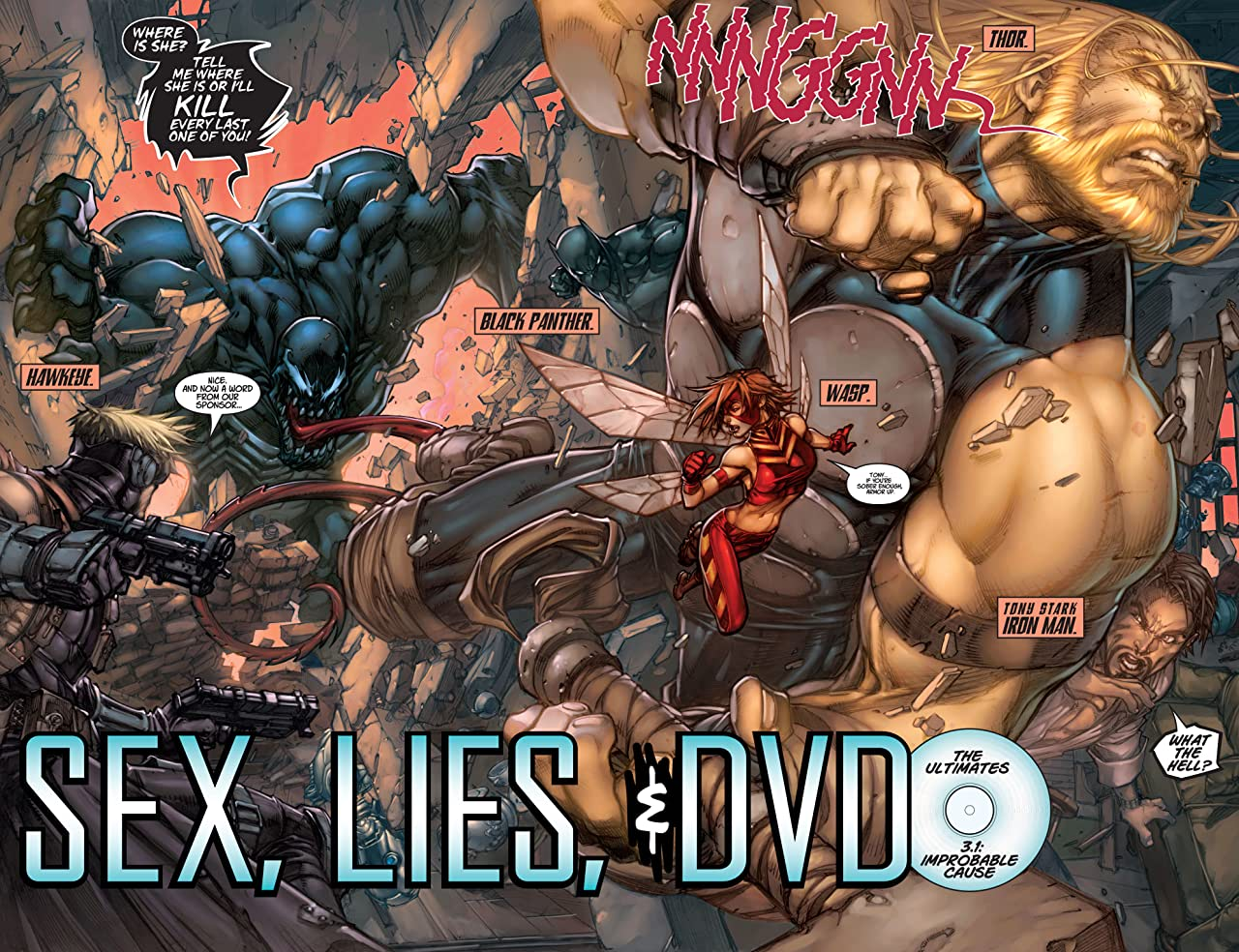 Ultimates 3: Who Killed the Scarlet Witch?