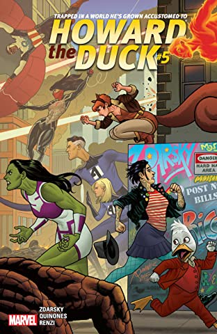 Howard The Duck (2015) No.5