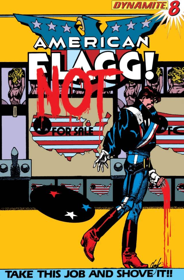 American Flagg! #8