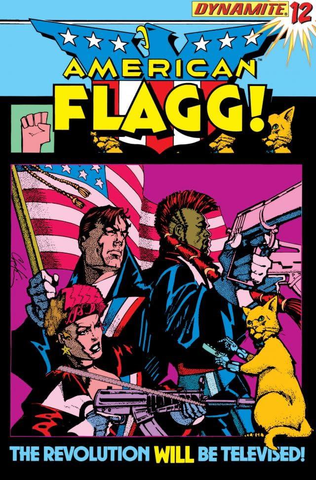 American Flagg! #12