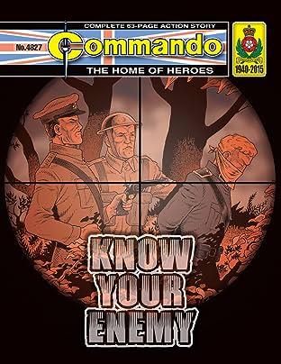 Commando #4827: Know Your Enemy