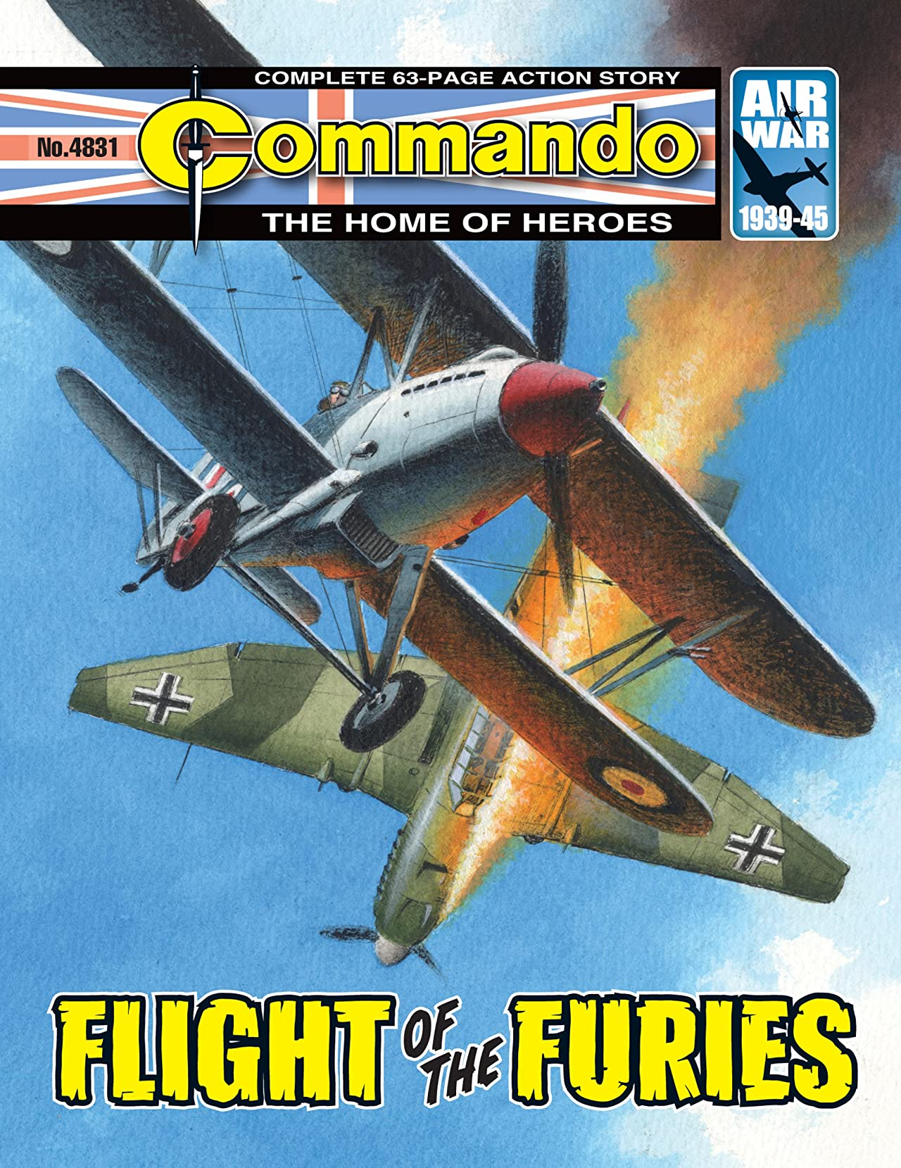 Commando #4831: Flight Of The Furies