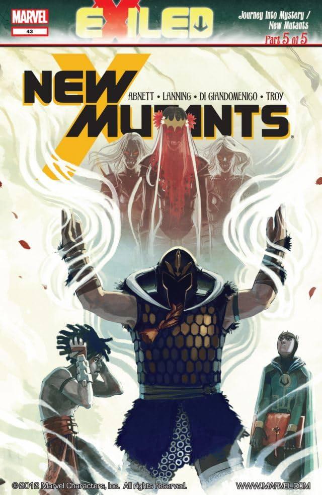 New Mutants (2009-2011) #43