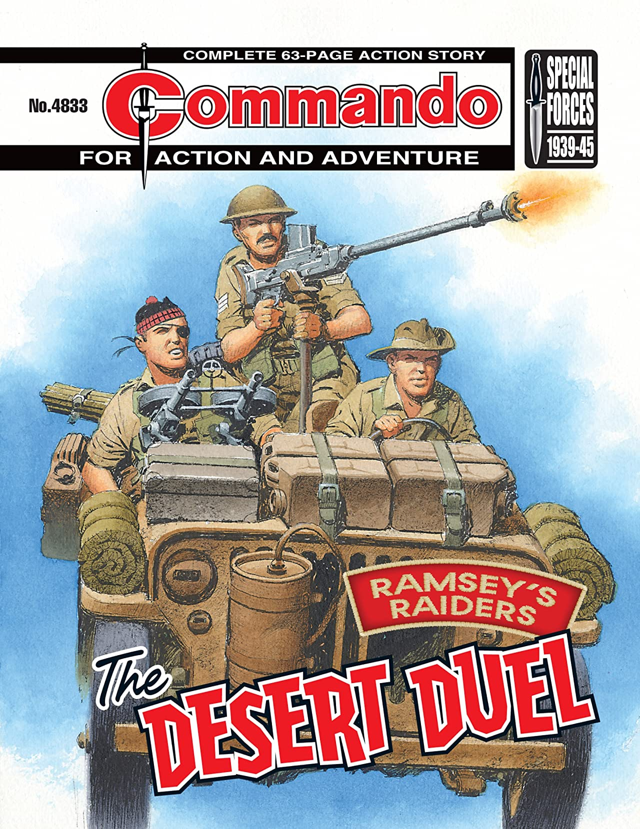 Commando #4833: Ramsey's Raiders: The Desert Duel