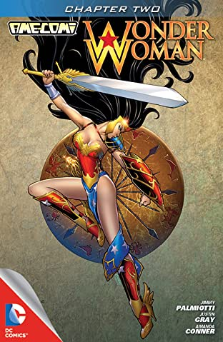 Ame-Comi I: Wonder Woman No.2