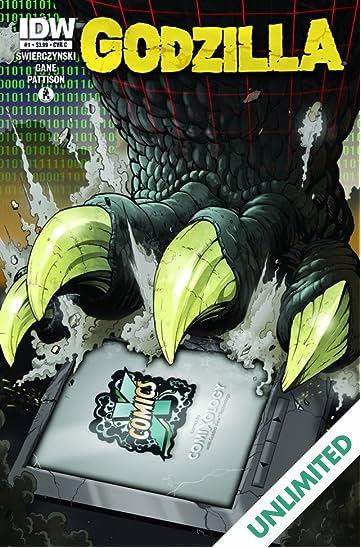 Godzilla (2011-2013) #1: comiXology Variant Edition