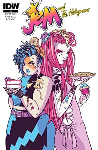 Jem and the Holograms (2015-2017) #5