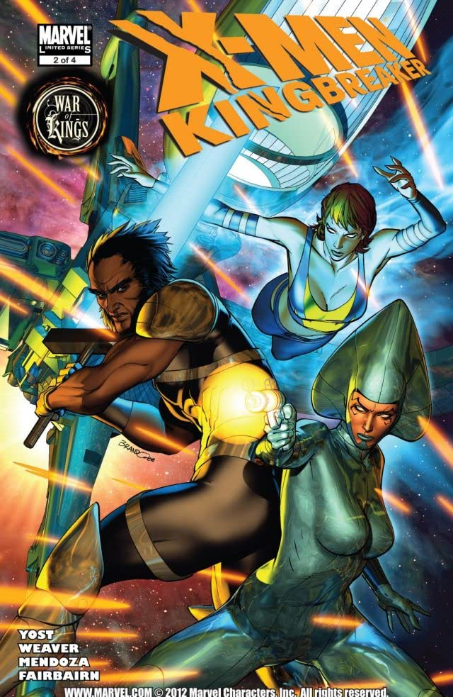 X-Men: Kingbreaker #2 (of 4)