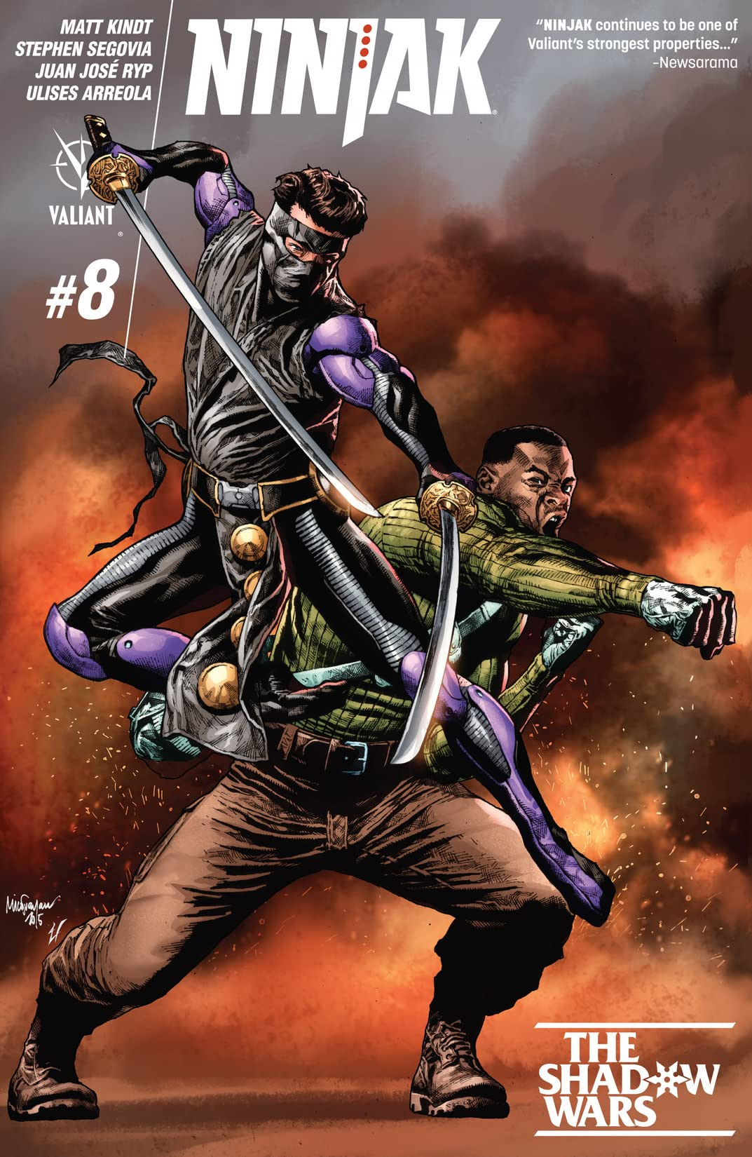Ninjak (2015- ) #8: Digital Exclusives Edition