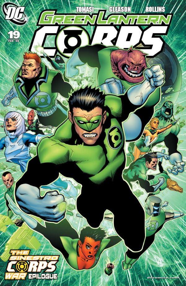 Green Lantern Corps (2006-2011) #19