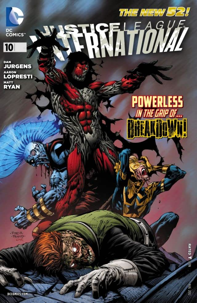 Justice League International (2011-2012) #10