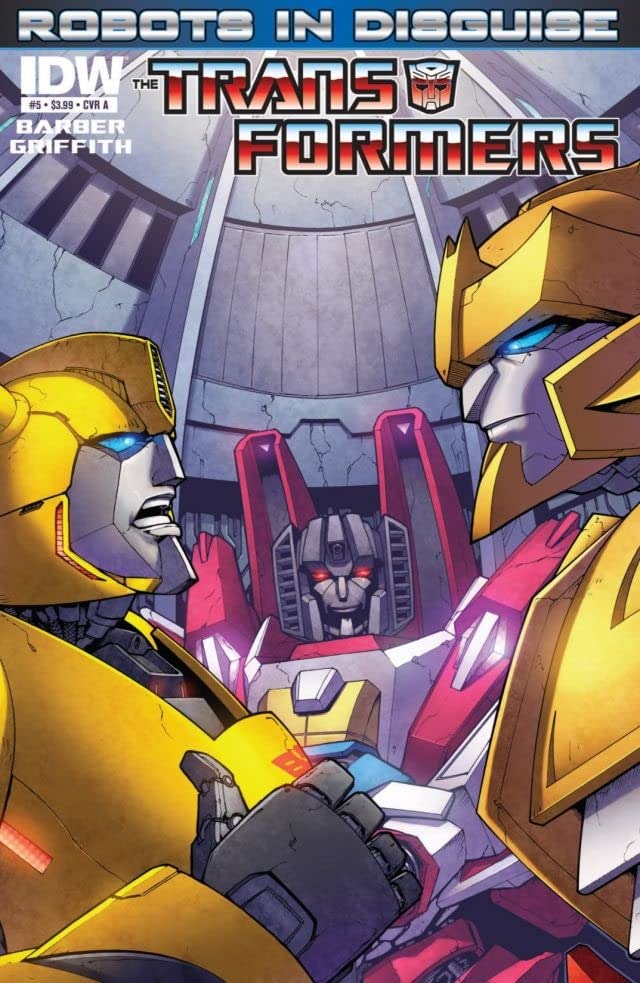 Transformers: Robots In Disguise (2011-) #5