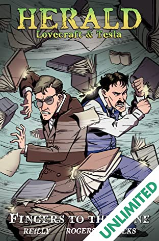 Herald: Lovecraft & Tesla Vol. 2: Fingers to the Bone