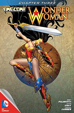 Ame-Comi I: Wonder Woman No.3
