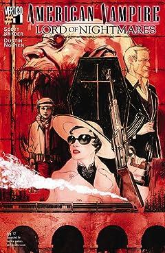 American Vampire: Lord of Nightmares No.1 (sur 5)