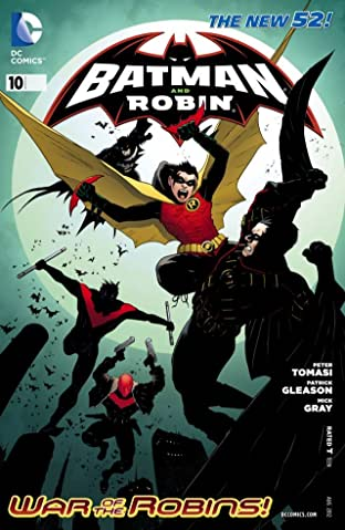 Batman and Robin (2011-2015) No.10