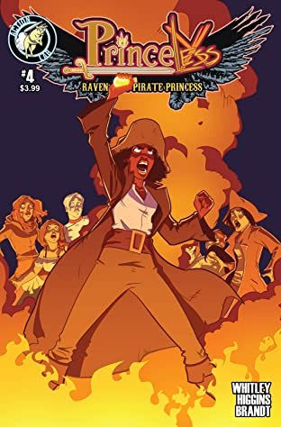 Princeless- Raven: The Pirate Princess #4