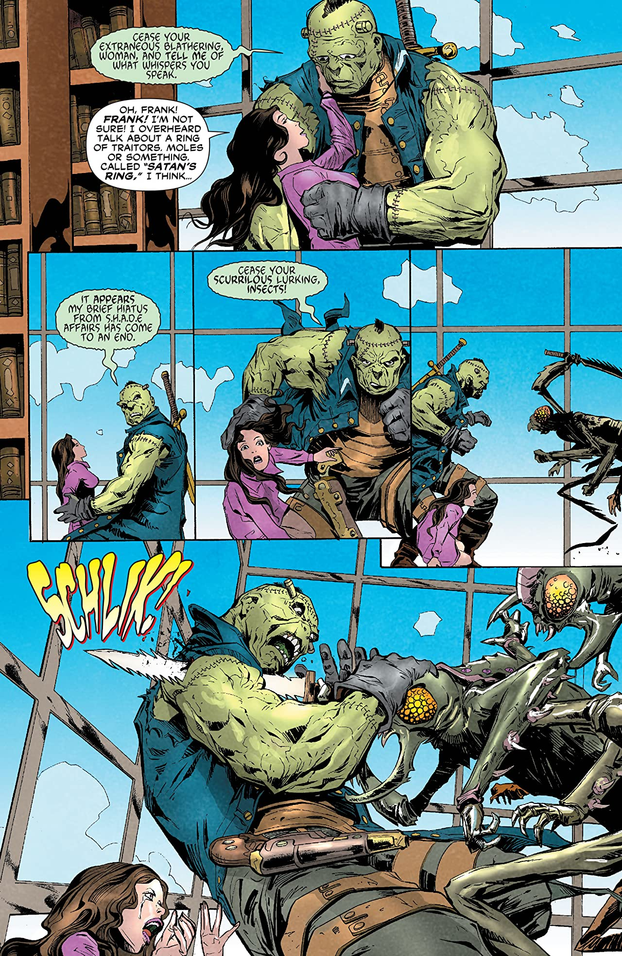 Frankenstein, Agent of SHADE (2011-2013) #10