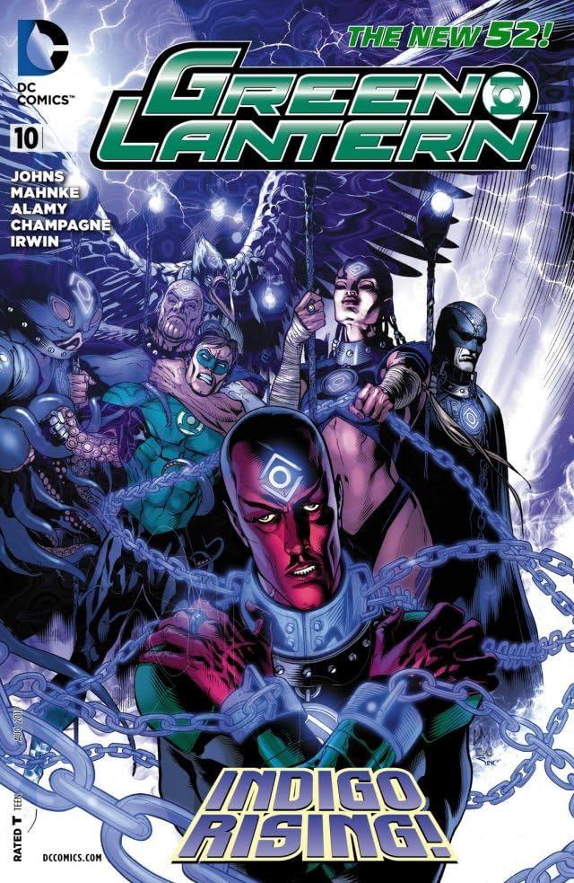Green Lantern (2011-) #10