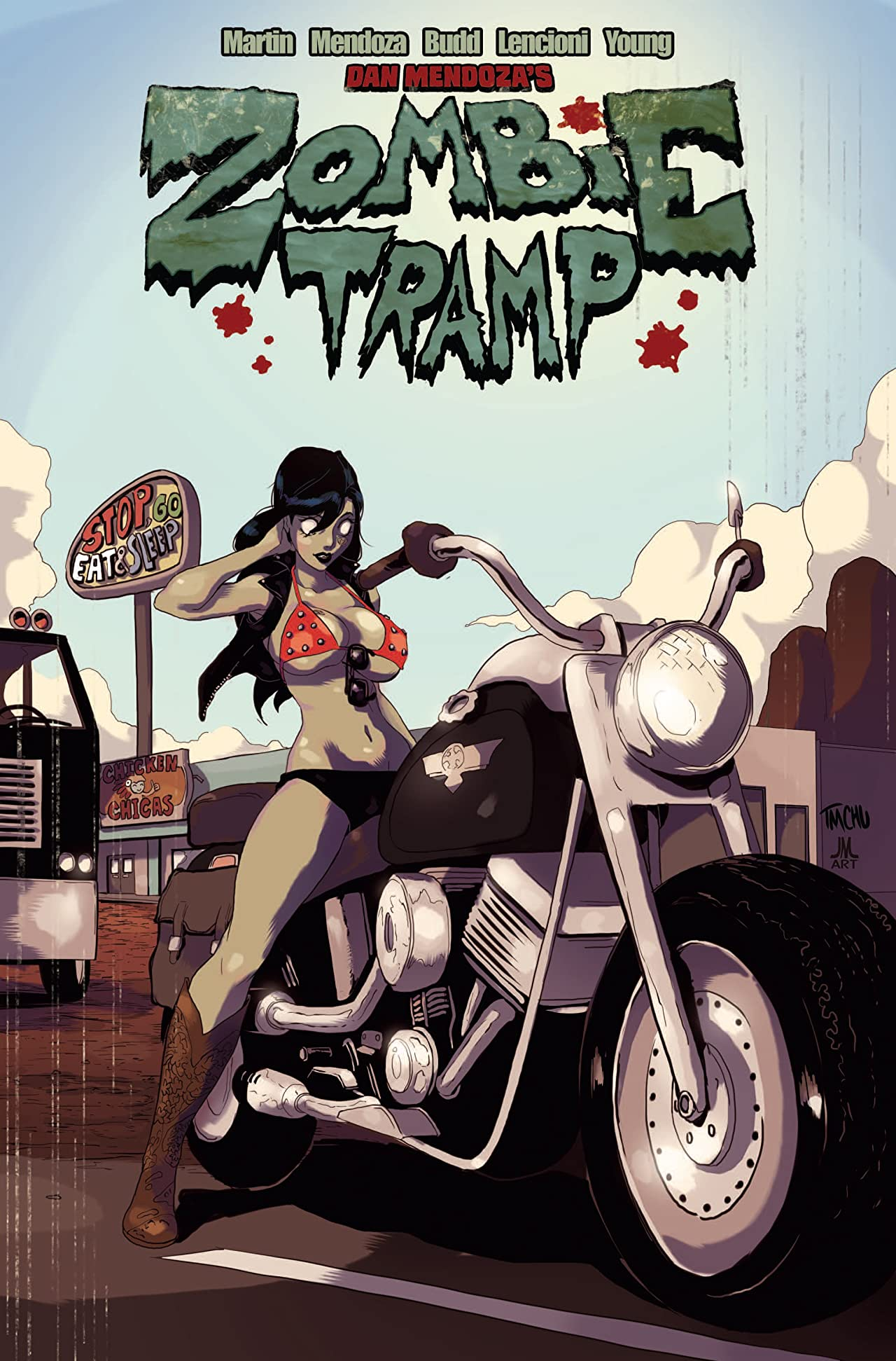 Zombie Tramp Vol. 4: Sleazy Rider