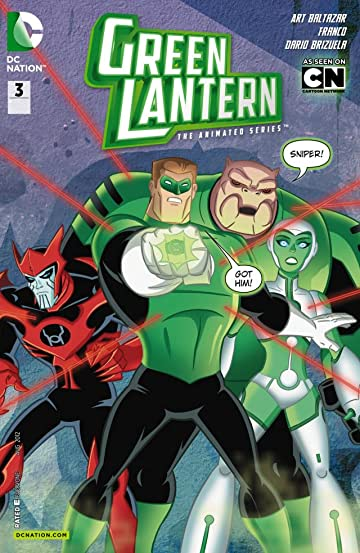 Green Lantern: The Animated Series #3