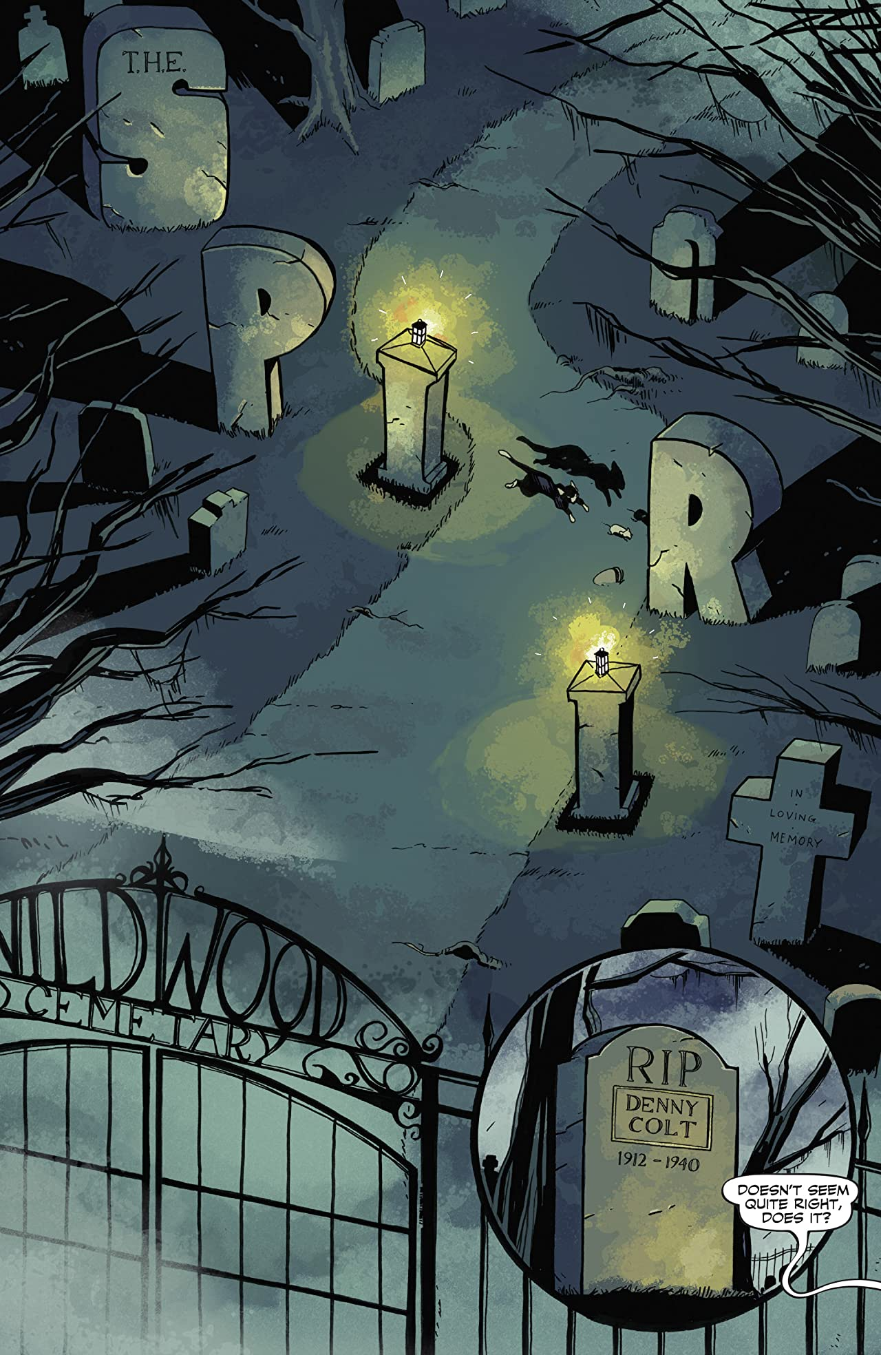 Will Eisner's The Spirit #2: Digital Exclusive Edition