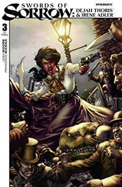 Swords of Sorrow: Dejah Thoris & Irene Adler #3 (of 3): Digital Exclusive Edition