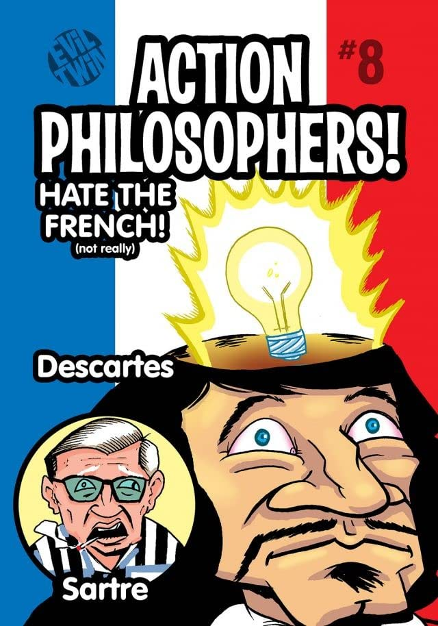 Action Philosophers #8: Descartes & Sartre!
