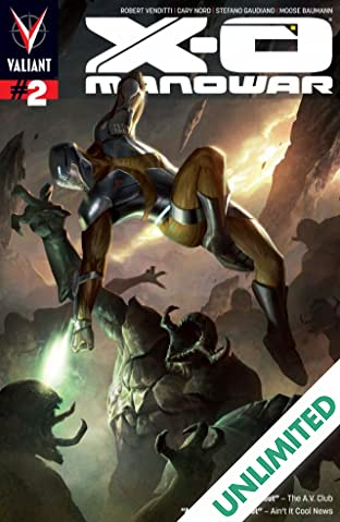 X-O Manowar (2012- ) #2: Digital Exclusives Edition