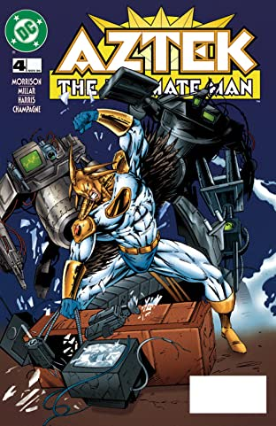 Aztek: The Ultimate Man (1996-1997) #4